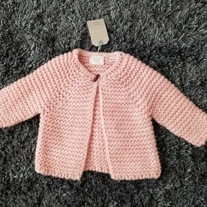 Nwt, Zara babygirl knitwear cardigan